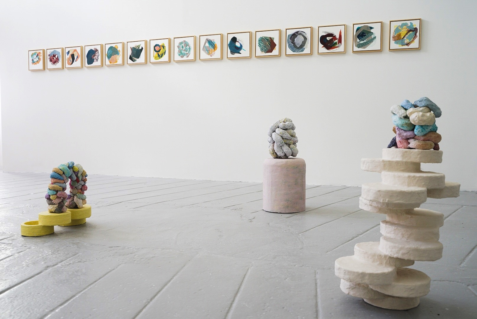 Jane Fogarty – slow motion installation view – MART gallery 2019_tn