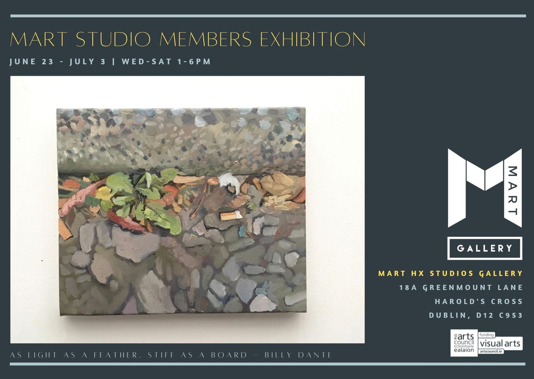 Members Show Exhibition Poster 2021